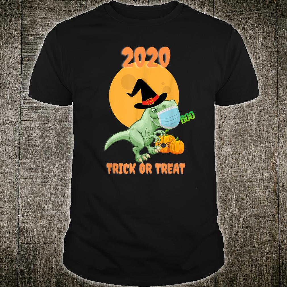 2020 TREX Dinosaur Halloween Trick or Treat Shirt
