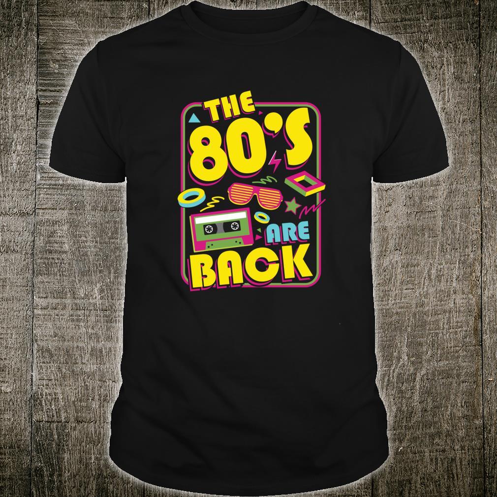 80er 80er 80er Jahre RetroParty lustiges Geschenk Flashback Shirt
