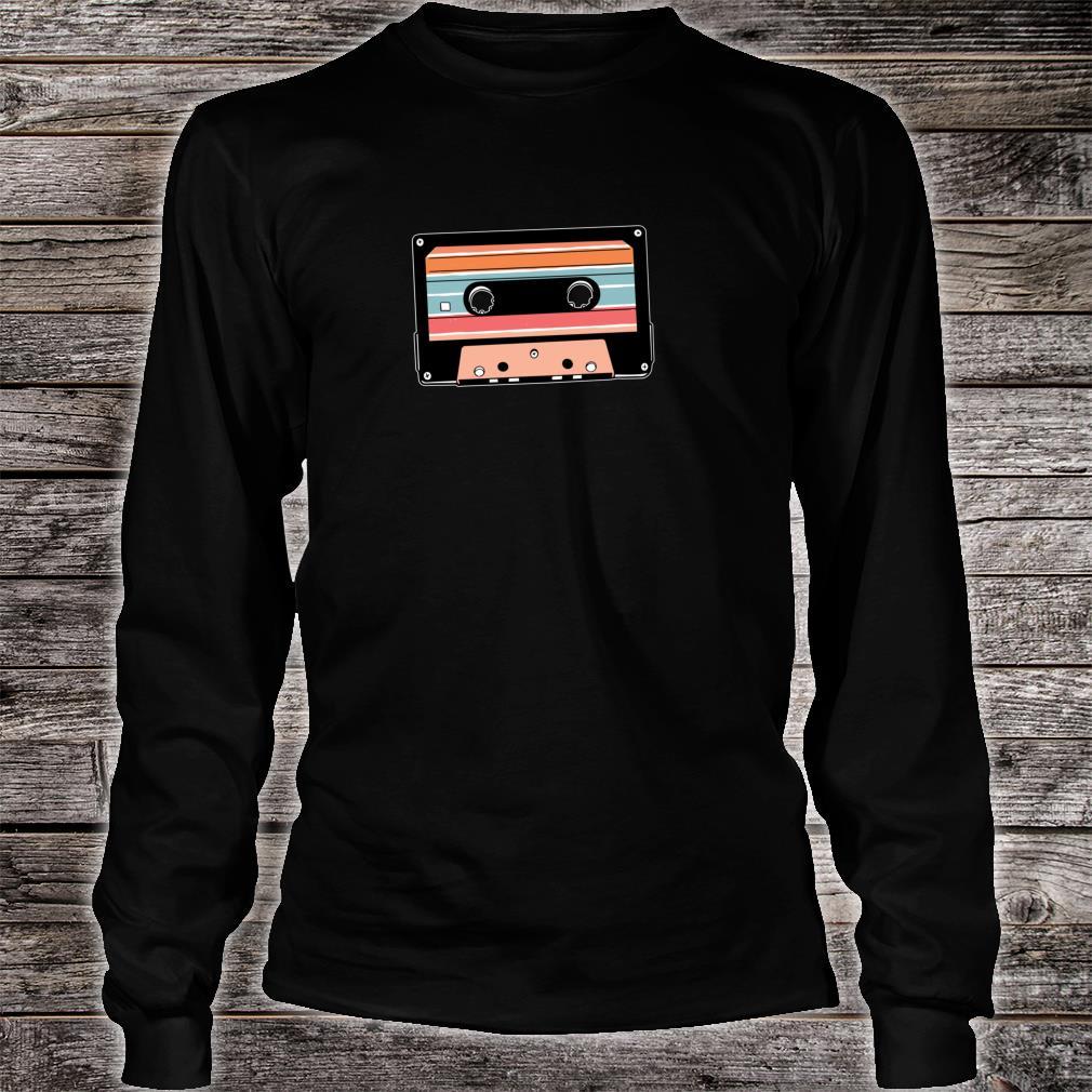 90er Jahre 90s Neunziger Kassette Kassettenrecorder Geschenk Shirt long sleeved