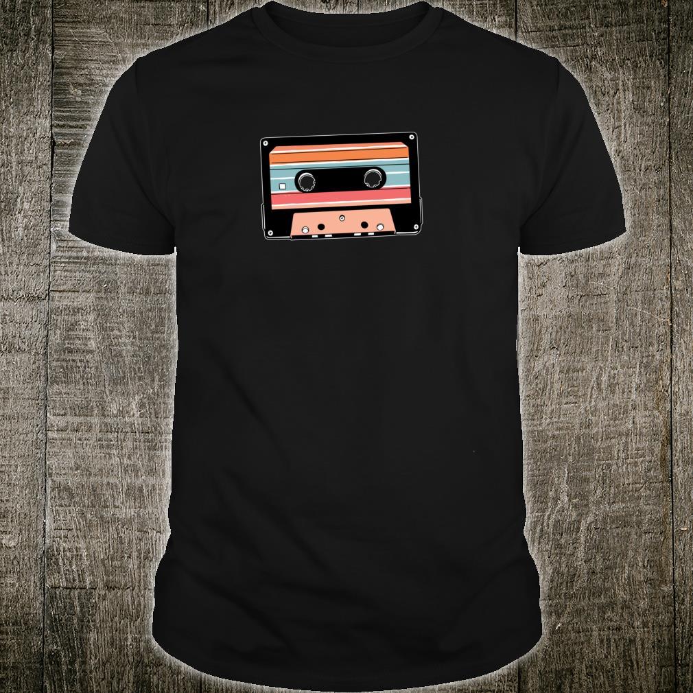 90er Jahre 90s Neunziger Kassette Kassettenrecorder Geschenk Shirt