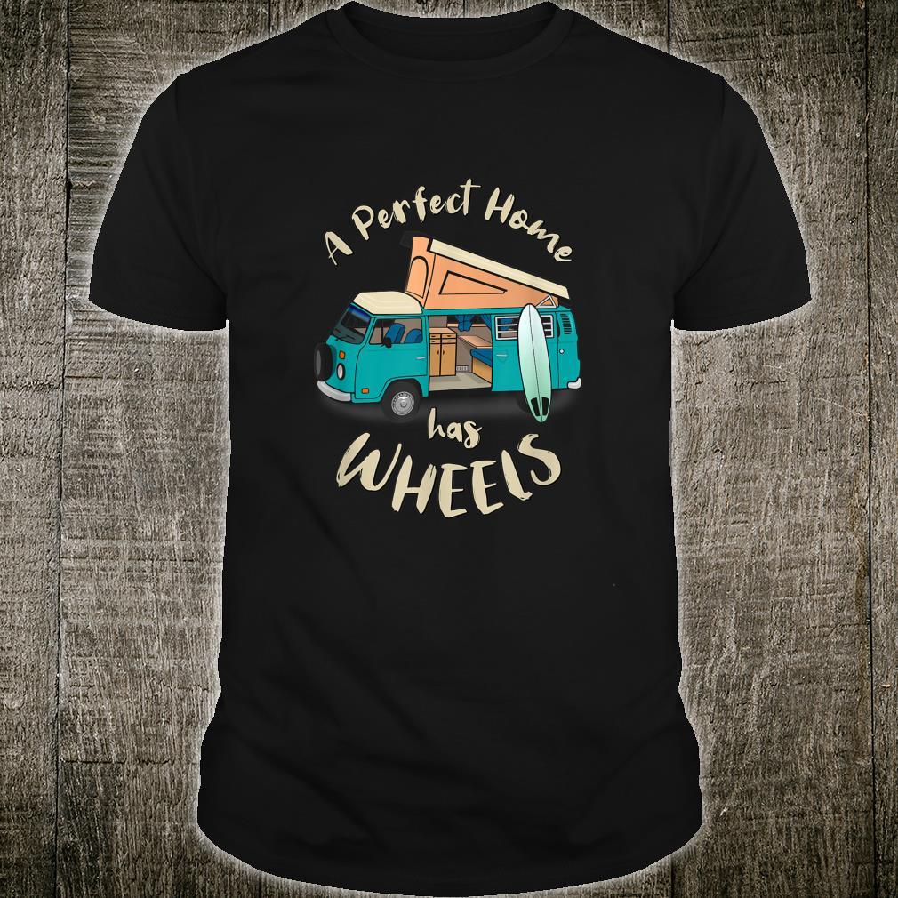 A Perfect Home has Wheels Vintage Van Shirt