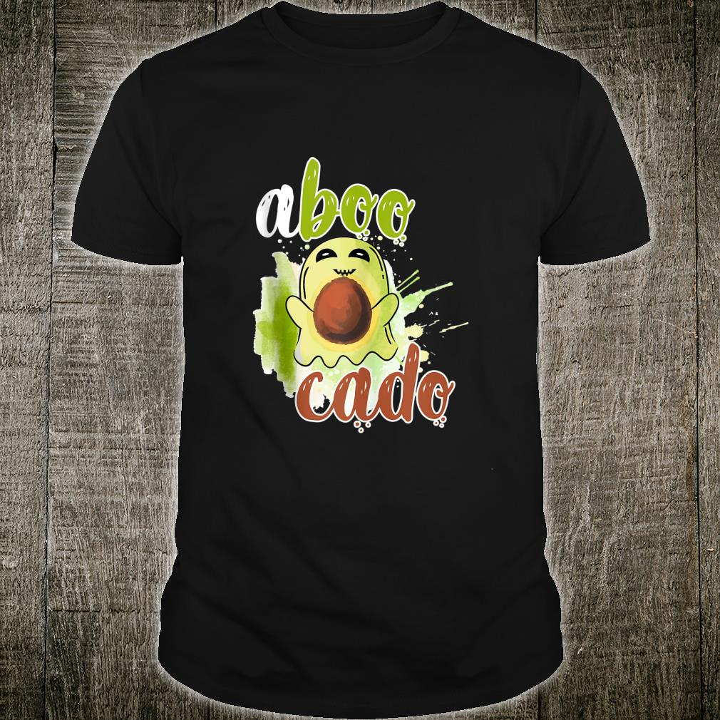 Aboocado Ghost Boo Pun Halloween Avocado Costume Shirt