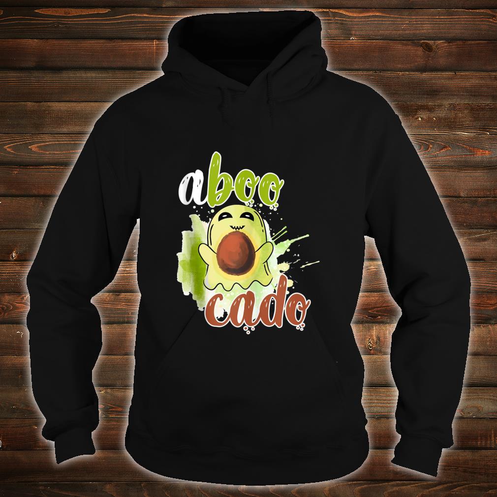 Aboocado Ghost Boo Pun Halloween Avocado Costume Shirt hoodie