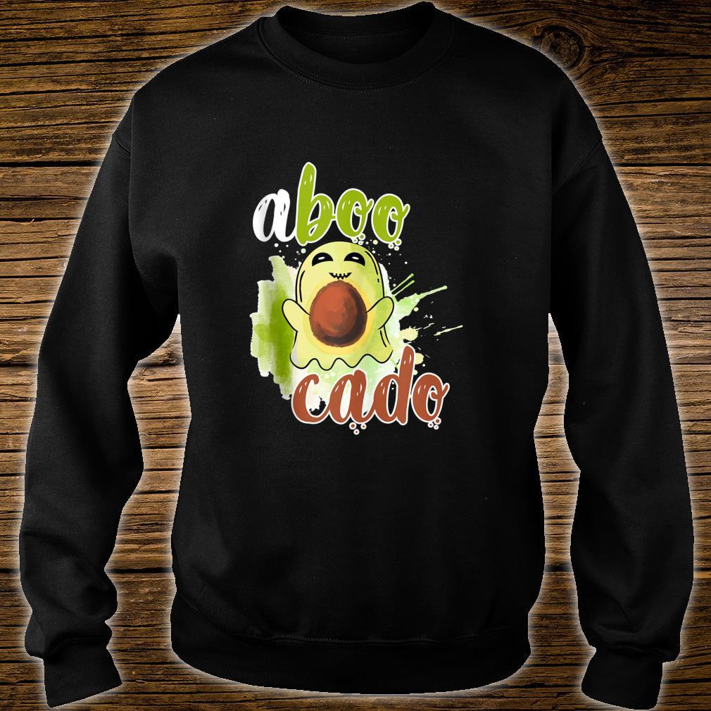 Aboocado Ghost Boo Pun Halloween Avocado Costume Shirt sweater