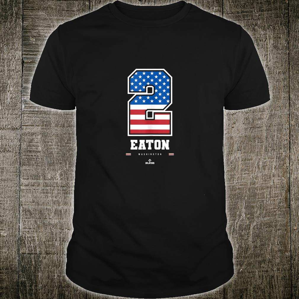 Adam Eaton US Flag Number Shirt