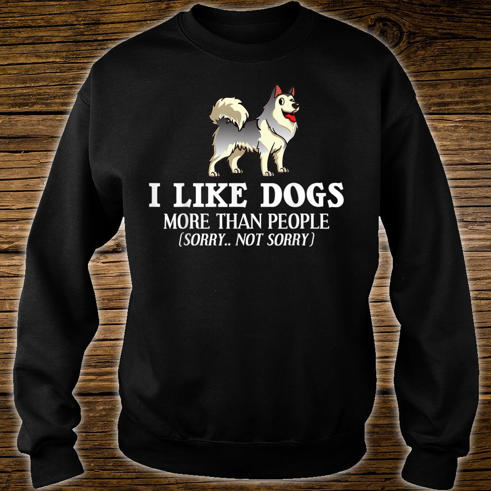 Alaskan Malamute Dog Puppies Owner Shirt sweater