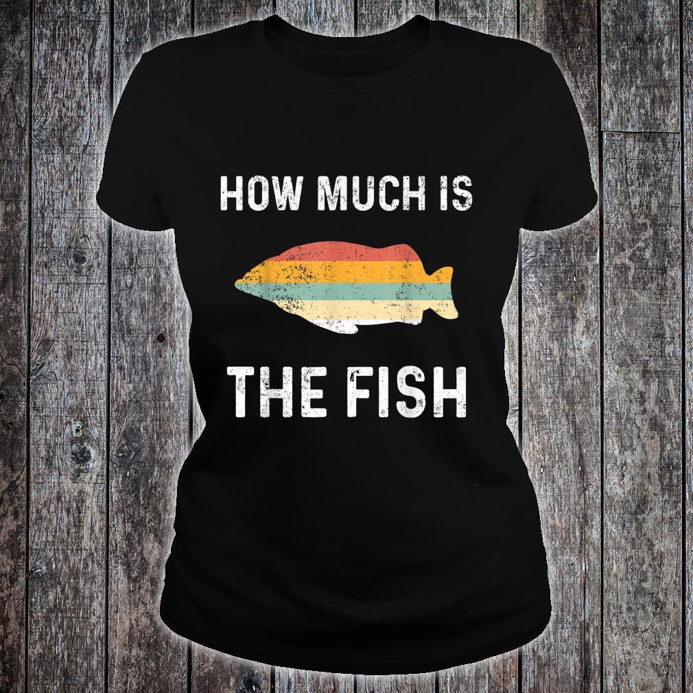 Angeln Angler Fischen Netz Fische Shirt ladies tee