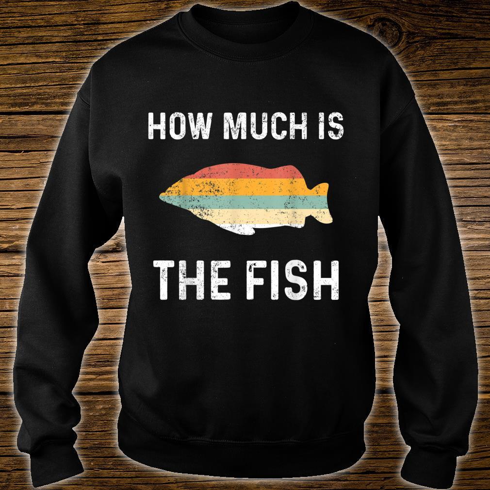 Angeln Angler Fischen Netz Fische Shirt sweater