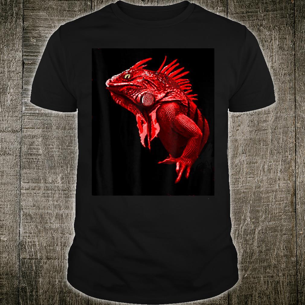Anime Red Iguana Shirt