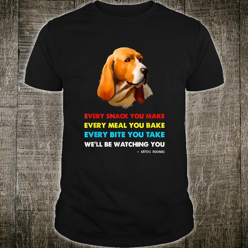 Artois Hound Dog Shirt Artois Hound Shirt