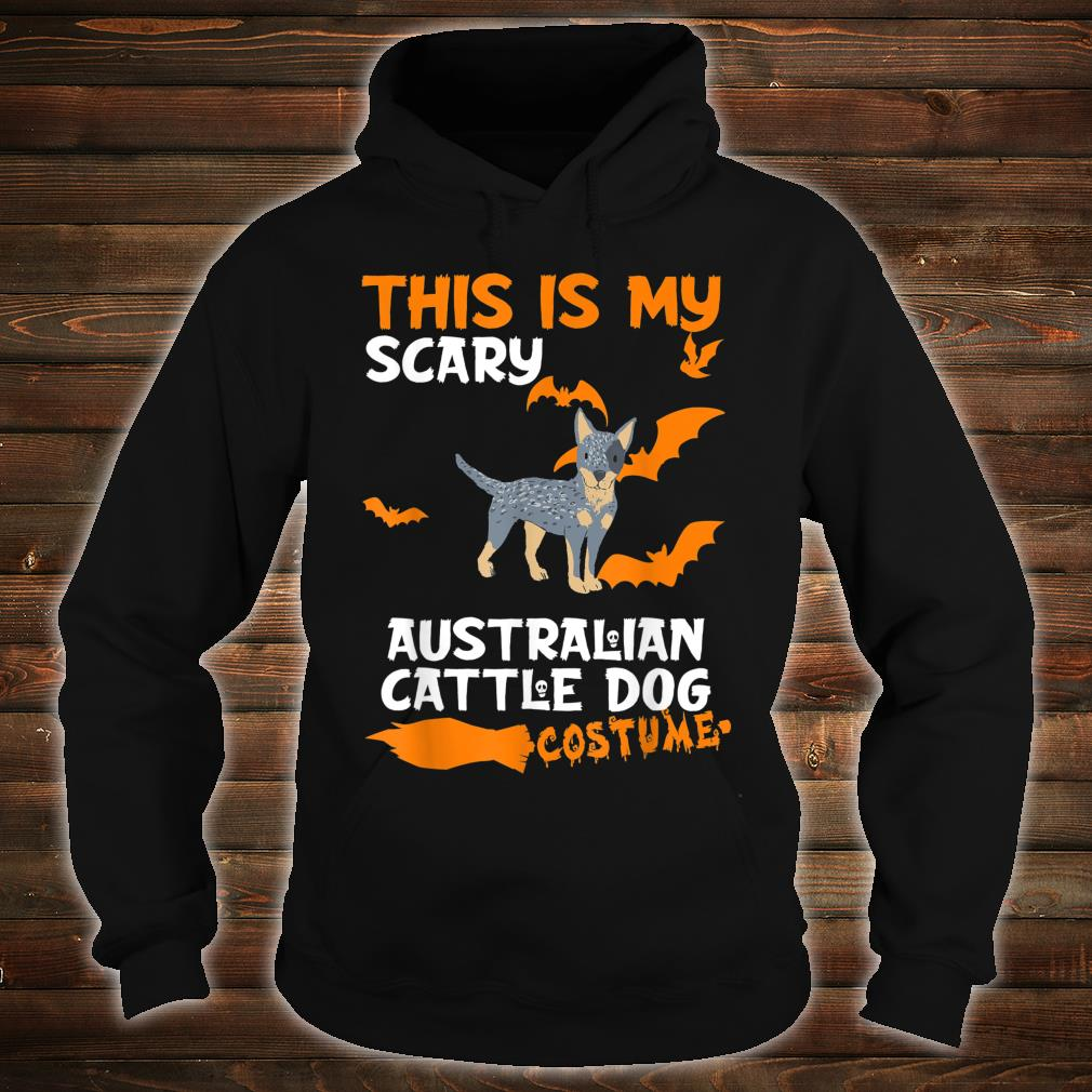 Australian Cattle Dog Costume Halloween Lazy Scary Dog Shirt hoodie