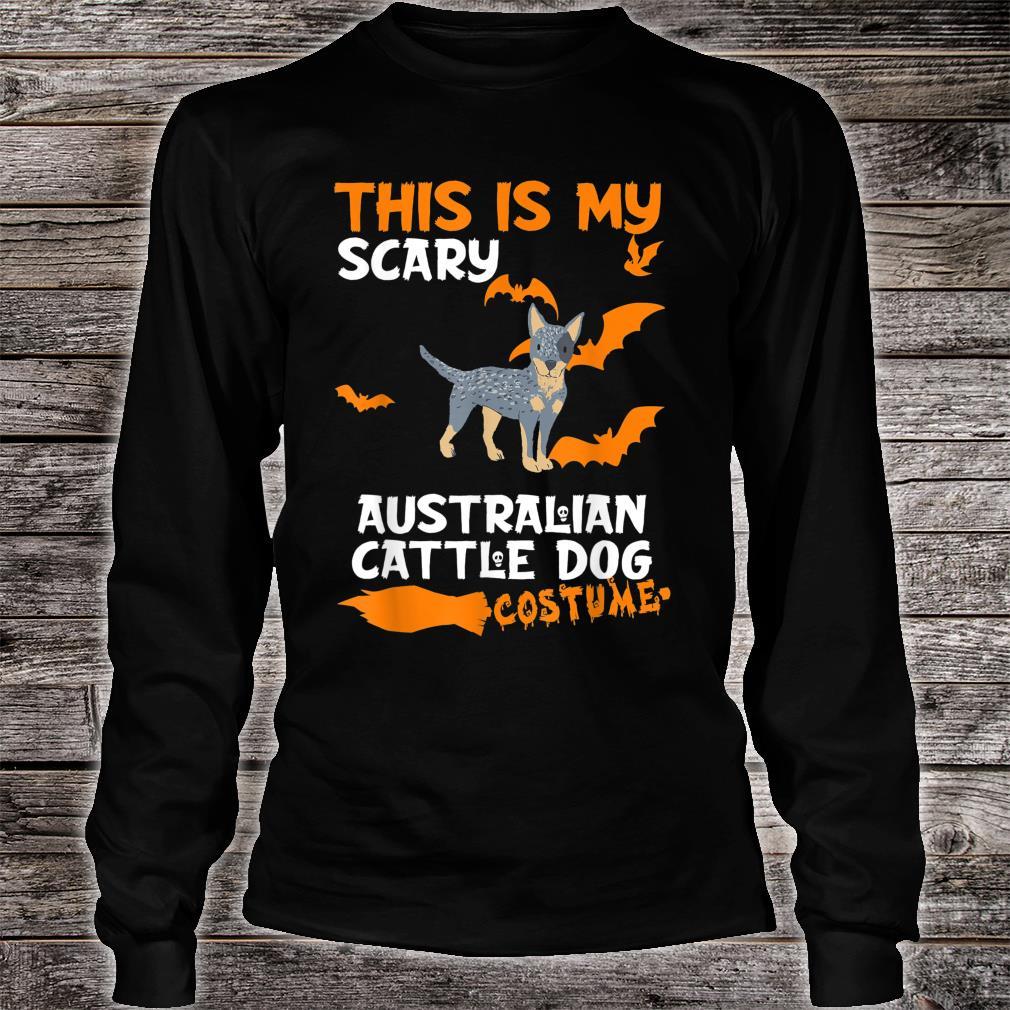 Australian Cattle Dog Costume Halloween Lazy Scary Dog Shirt long sleeved