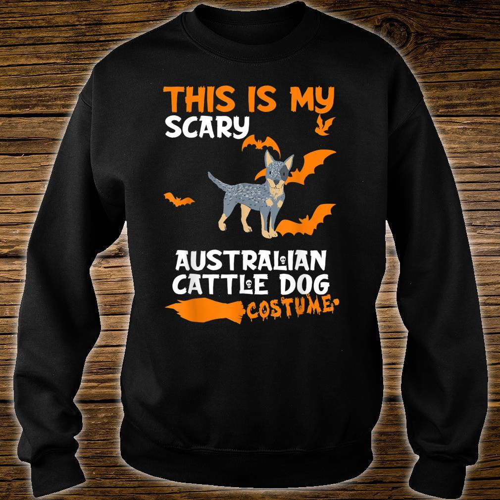 Australian Cattle Dog Costume Halloween Lazy Scary Dog Shirt sweater