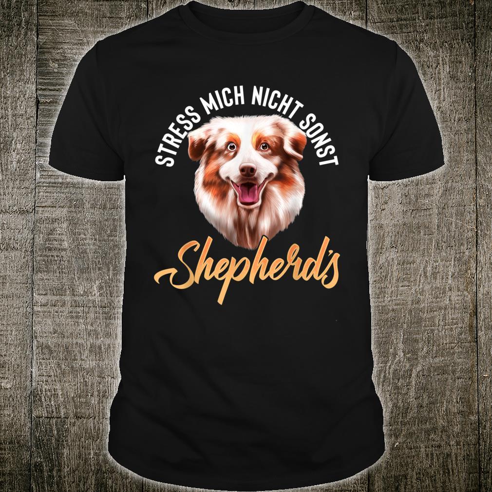 Australian Shepherd Hund Hunderassen Damen Herren Aussie Shirt