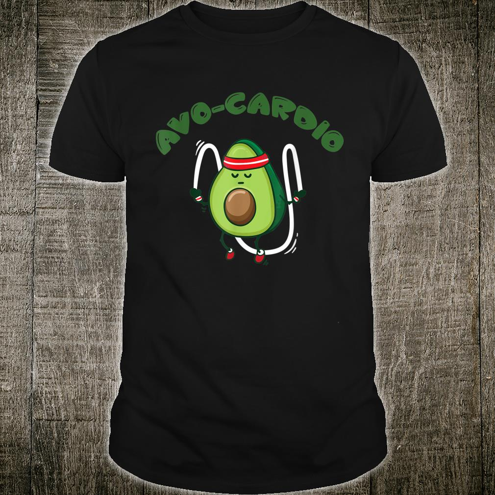 Avo Cardio Shirt Avocado Shirt Guacamole Shirt