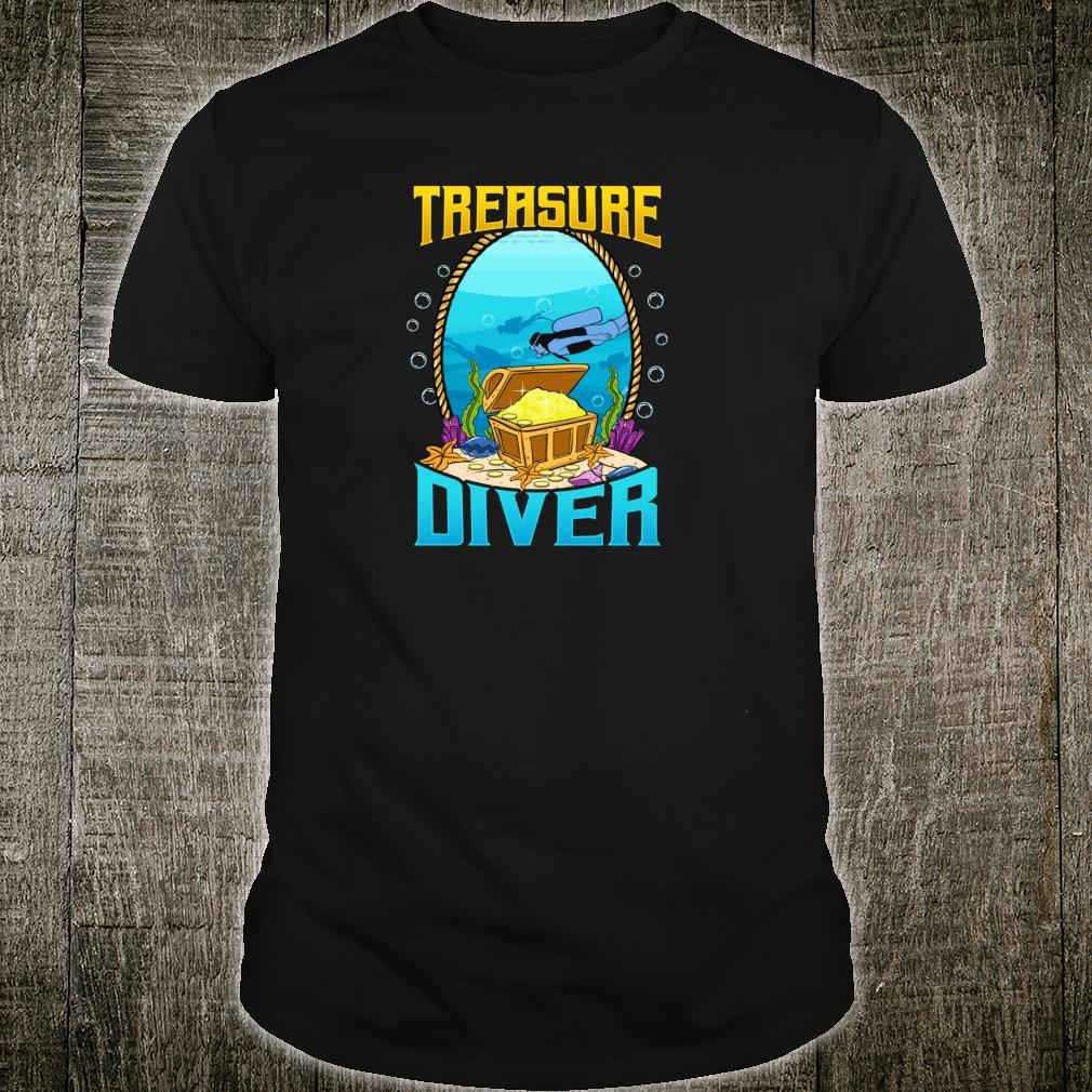 Awesome Scuba Diving Treasure Diver Shirt