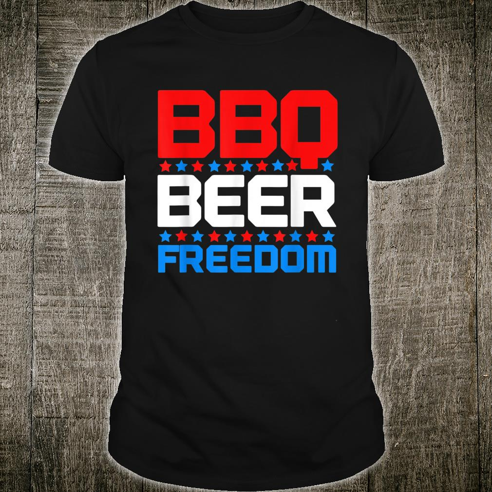 BBQ Beer Freedom Shirt