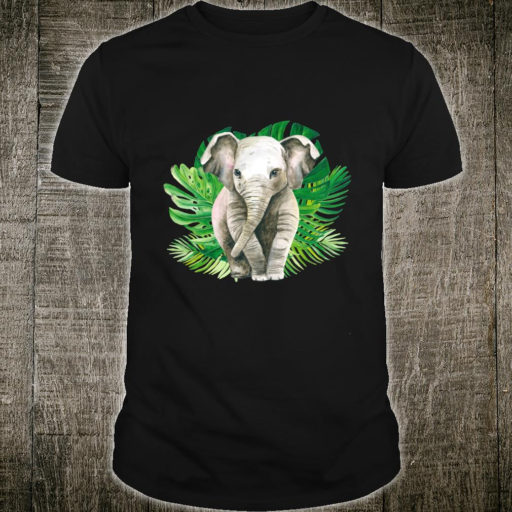 Baby elephant in the jungle Shirt