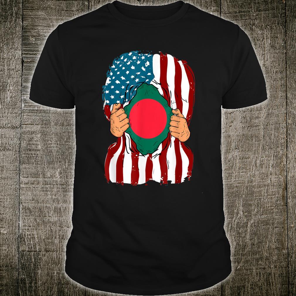 Bangladesh Flag Inside Me Home Bangladeshi American Shirt