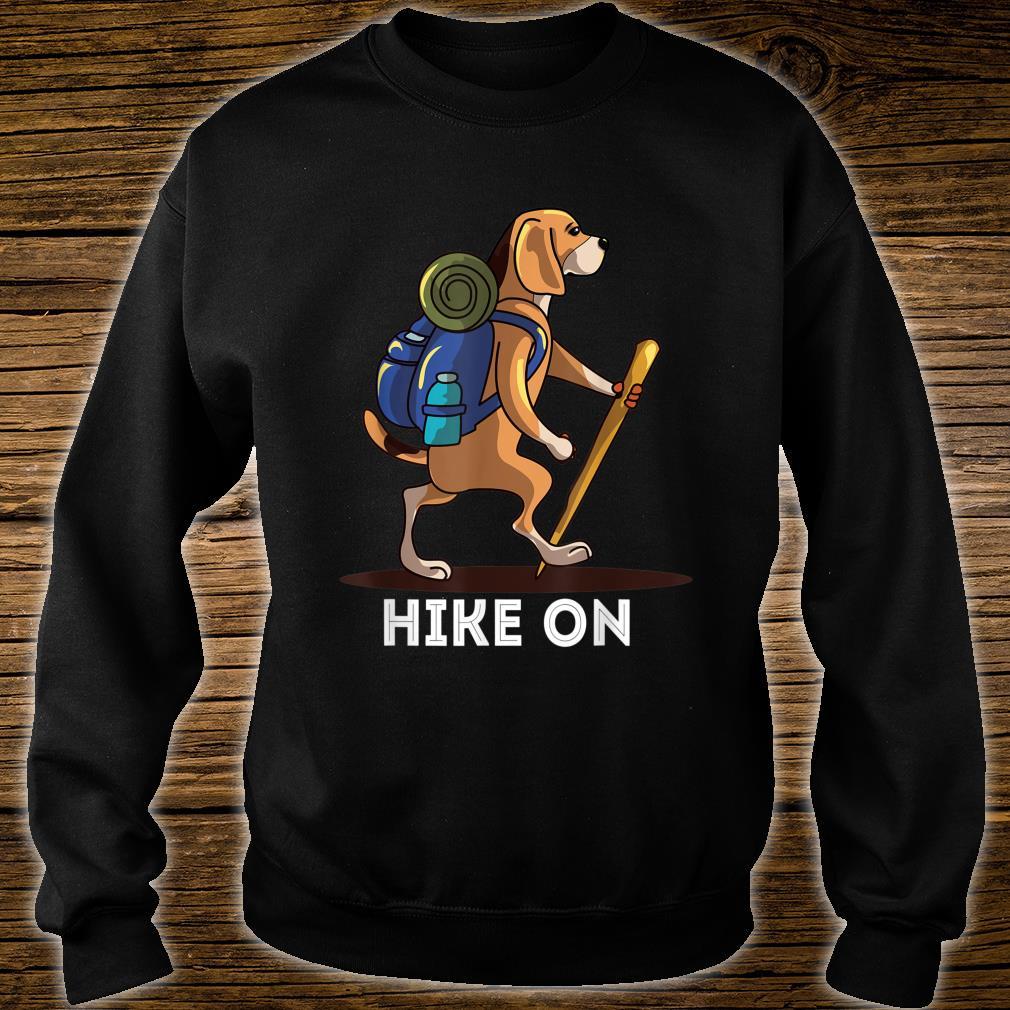 Beagle Dog Lover Hiking Adventure Shirt sweater