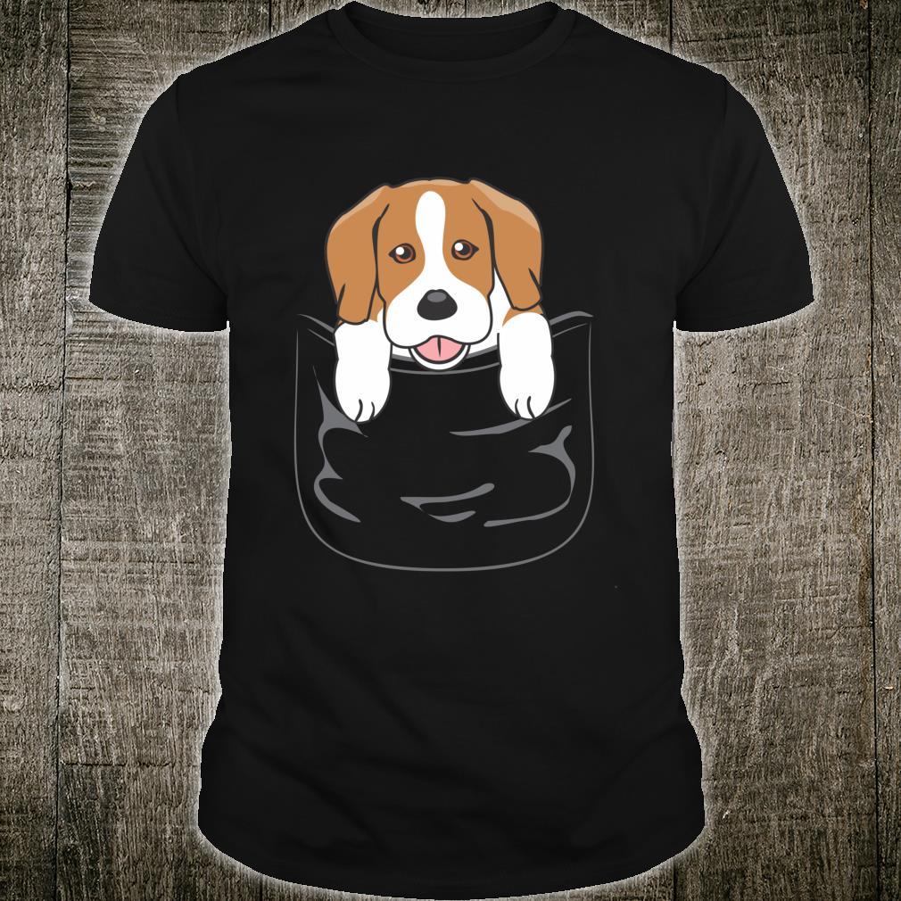 Beagle In A Pocket Beagle Dog Shirt