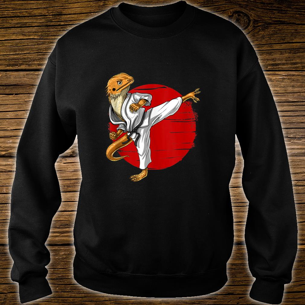 Bearded Dragon Karate Ninja JiuJitsu Taekwondo Martial Arts Shirt sweater