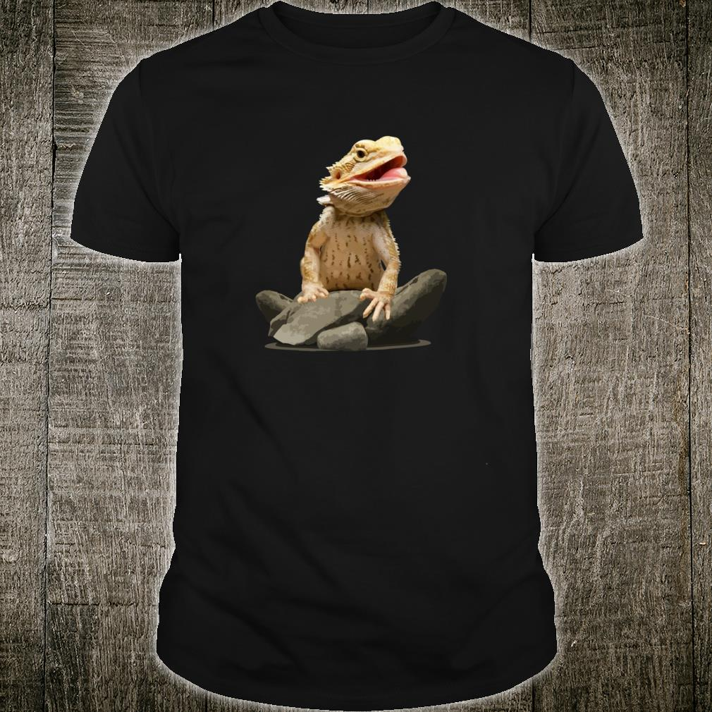 Bearded Dragon Shirt Youth Gecko Lizard Animal Shirt