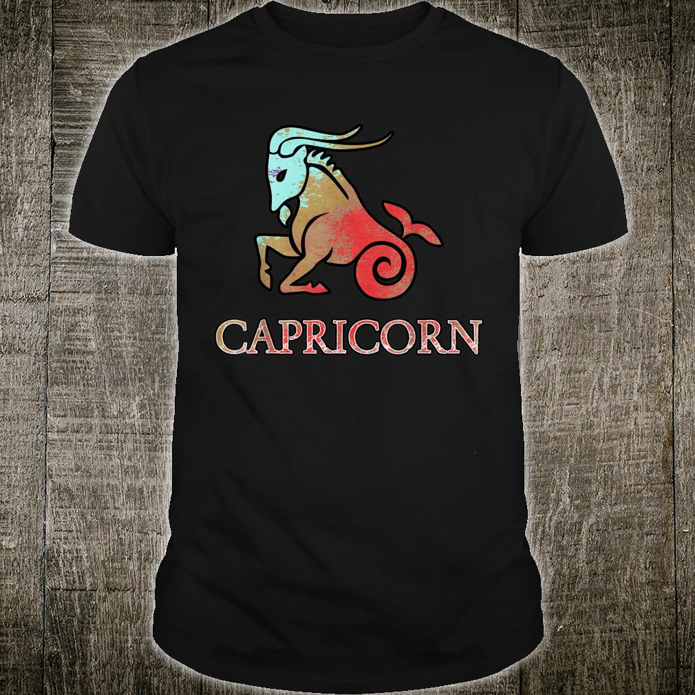 Beautiful Art Zodiac Symbol For Capricorn Apparel Shirt