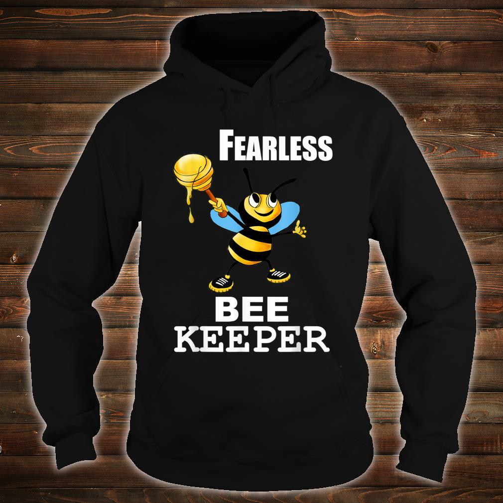 Bee Keeper Honey Bee Keeping Fearless Beekeeper Shirt hoodie