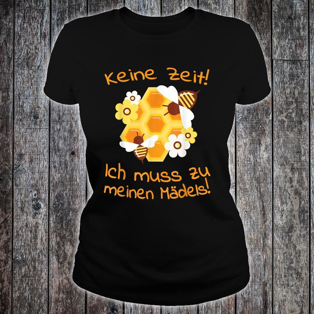Beekeepers Bee Motif Honeycomb Flowers Shirt ladies tee