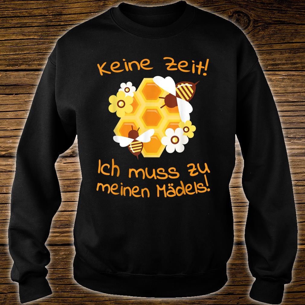 Beekeepers Bee Motif Honeycomb Flowers Shirt sweater