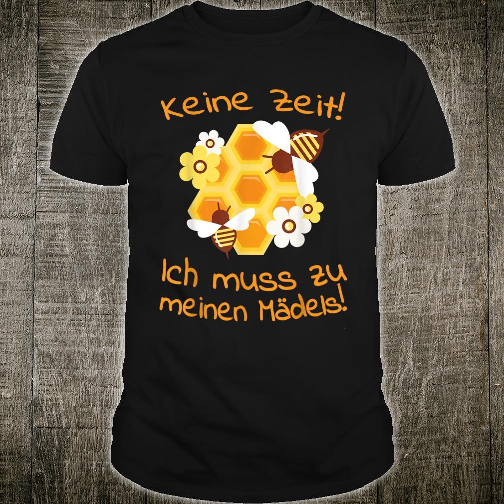 Beekeepers Bee Motif Honeycomb Flowers Shirt