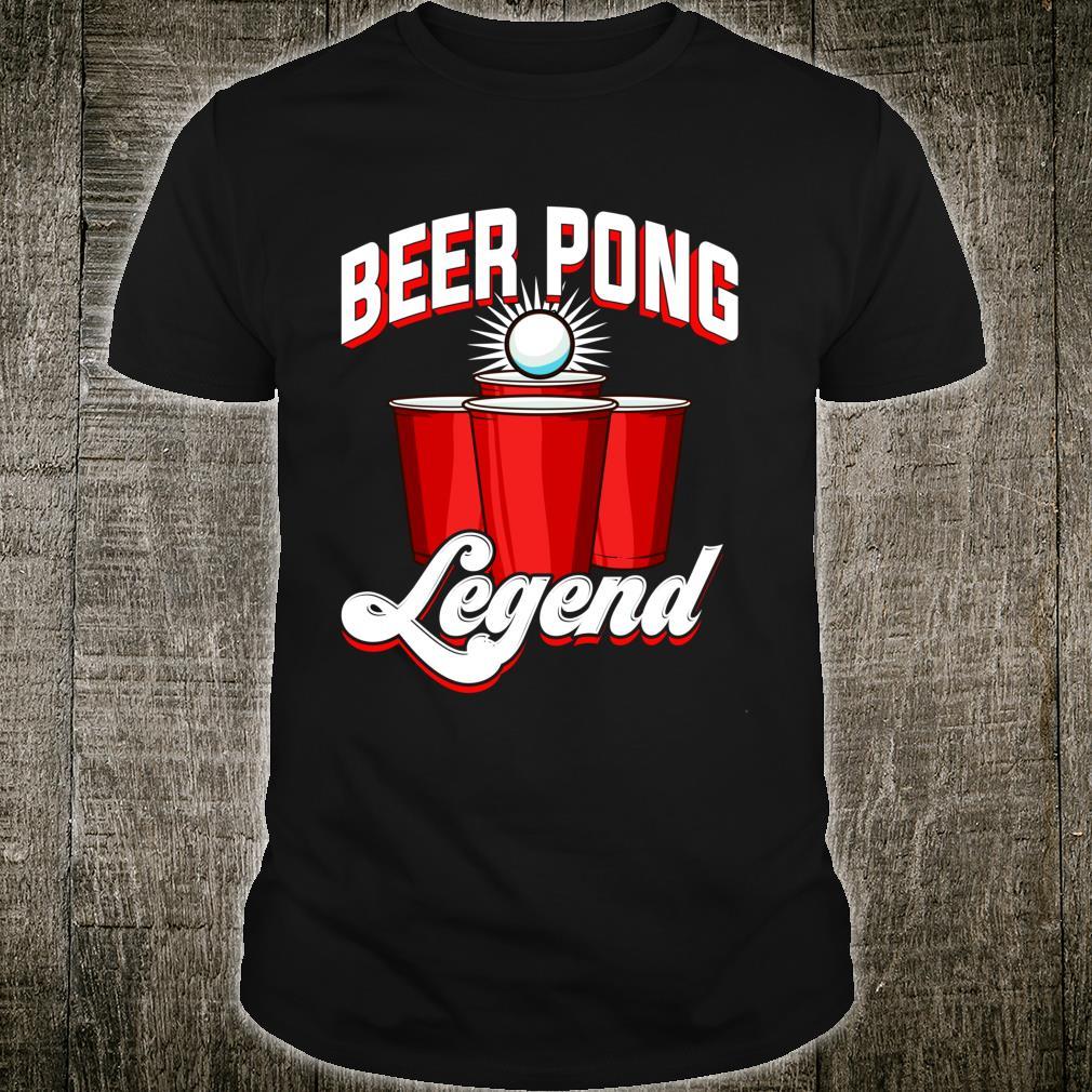 Beer Pong Legend Beirut Beerpong Player College Shirt