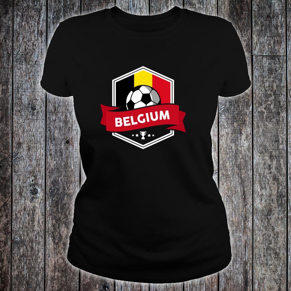 Belgium Jersey Football Fan Item Jersey 2020 2021 LongSleeved Shirt ladies tee