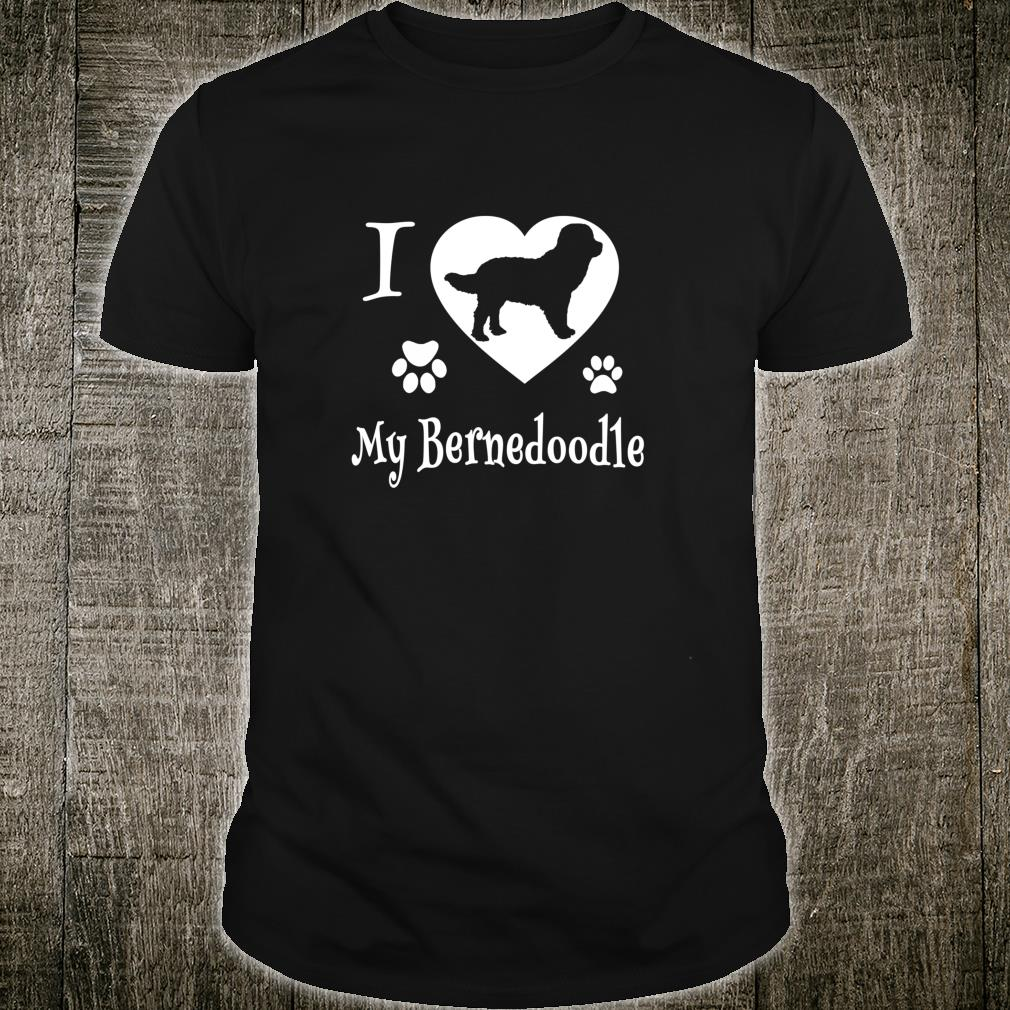 Bernedoodle Shirt Design for Bernedoodle Dogs Shirt
