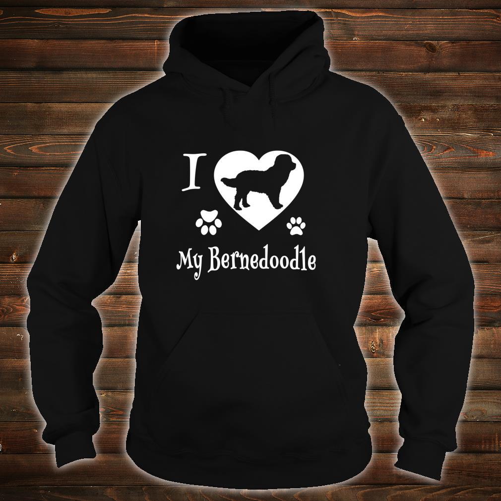 Bernedoodle Shirt Design for Bernedoodle Dogs Shirt hoodie