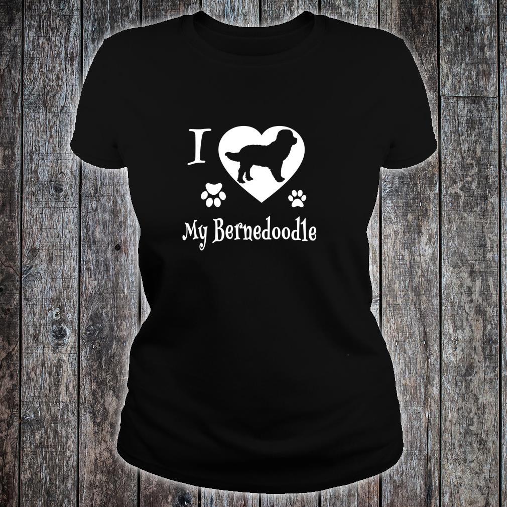 Bernedoodle Shirt Design for Bernedoodle Dogs Shirt ladies tee