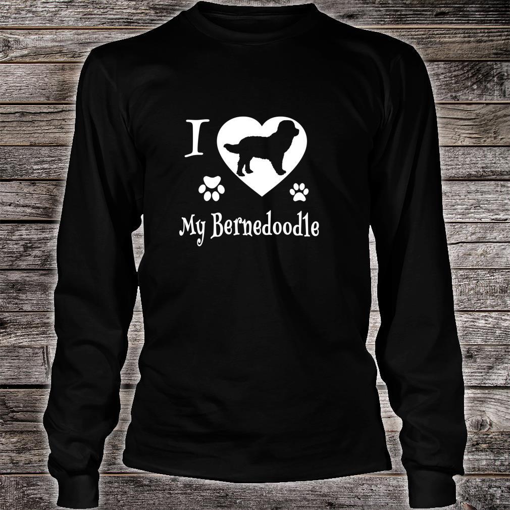 Bernedoodle Shirt Design for Bernedoodle Dogs Shirt long sleeved