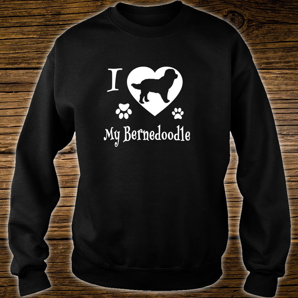 Bernedoodle Shirt Design for Bernedoodle Dogs Shirt sweater
