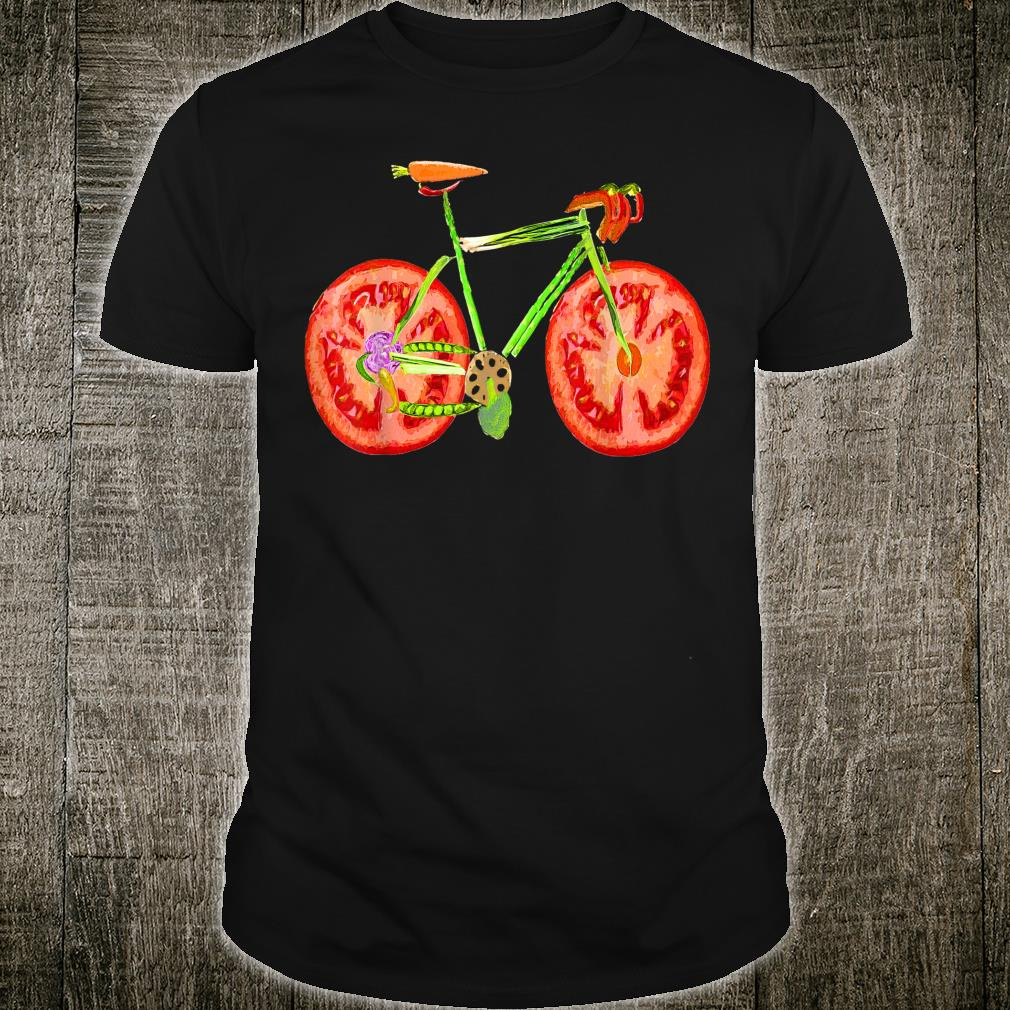 Bicycle Vegetarian Rider cool shirt for cyclist Shirt