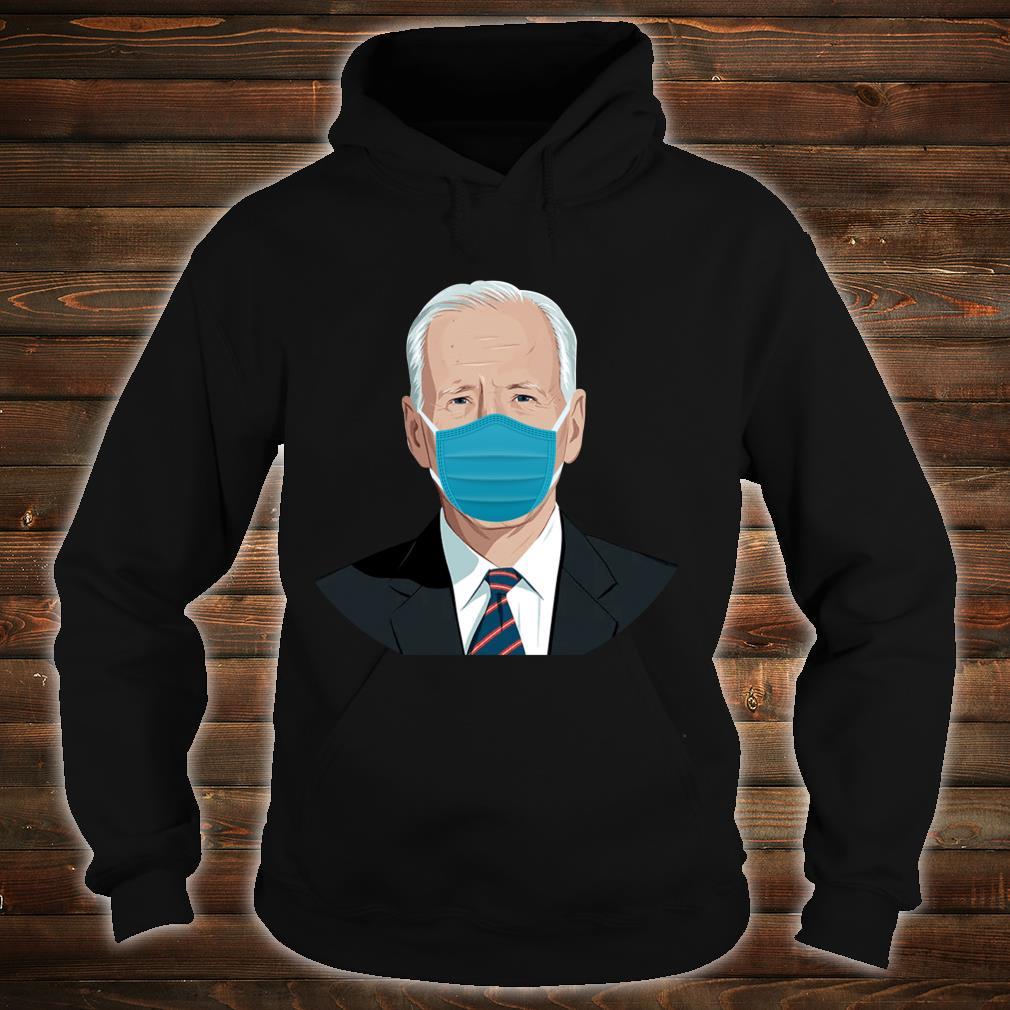 Biden Mask Joe Biden Bye Don Stop the Spread Shirt hoodie