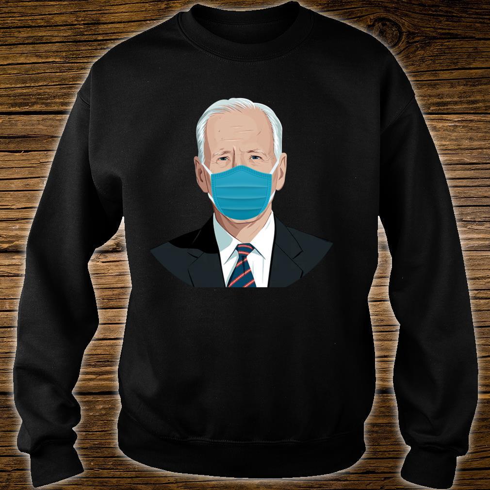 Biden Mask Joe Biden Bye Don Stop the Spread Shirt sweater