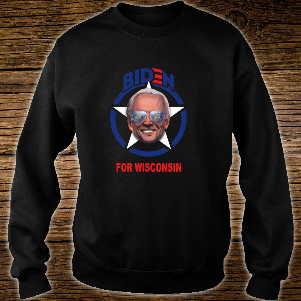 Biden for Wisconsin Shirt sweater