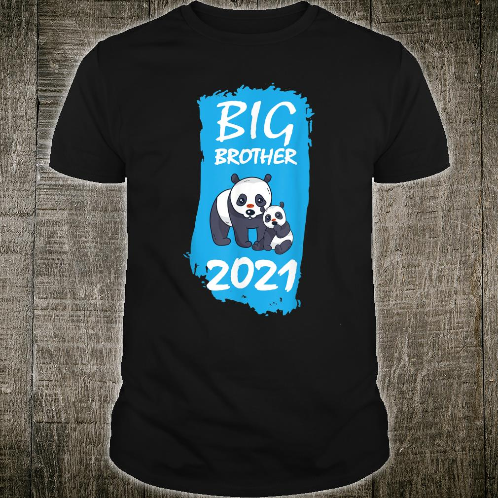 Big Brother 2021 Panda Children Only Child Animal Motif Shirt