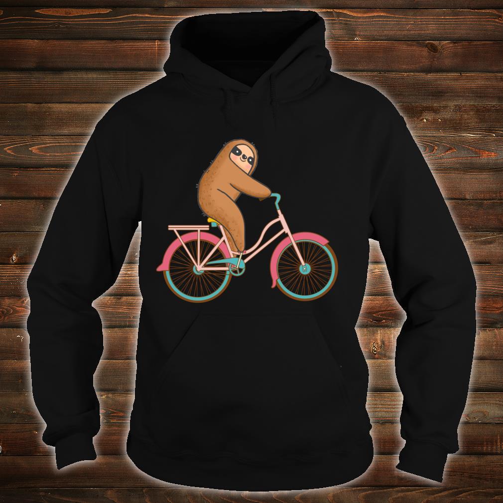 Biking Sloth Design Sloth Sloth Biking Shirt hoodie