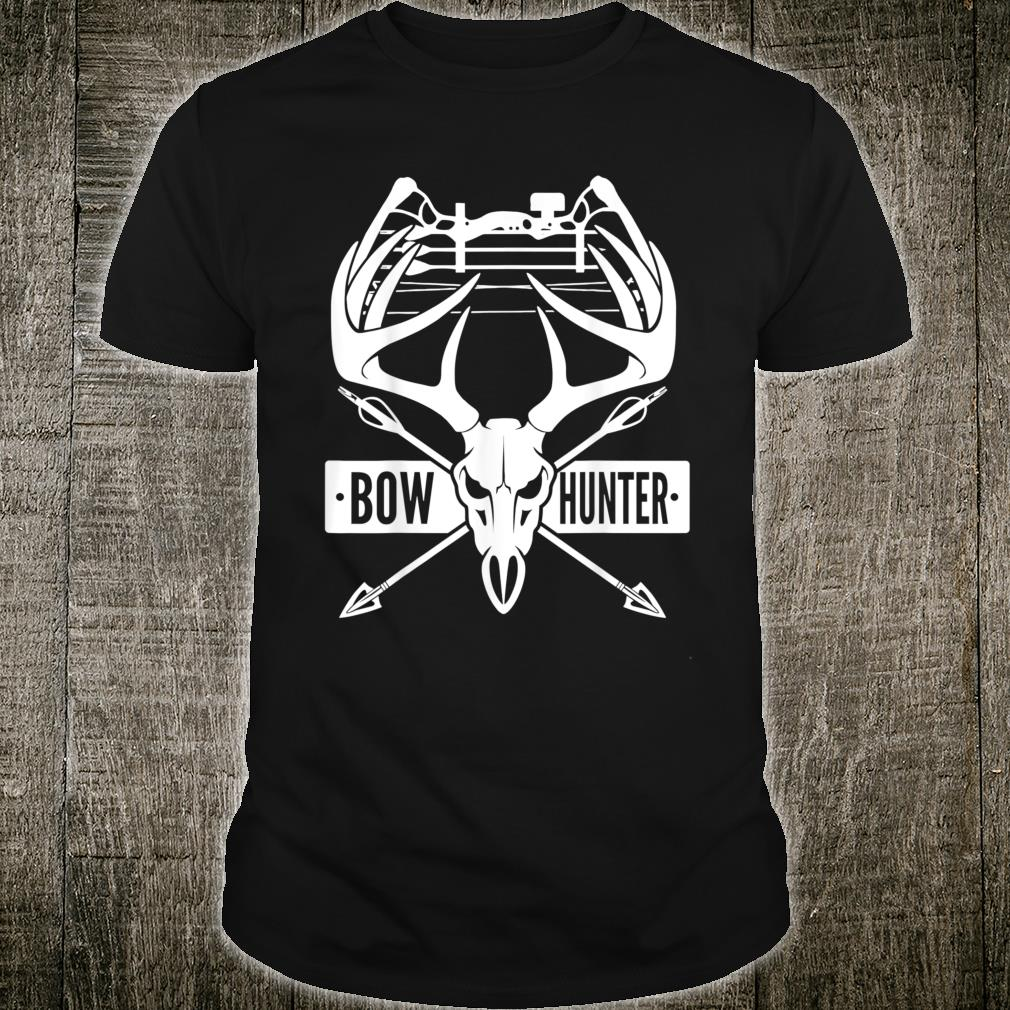 Bow Hunting Skull with Arrow for Deer Hunters Shirt