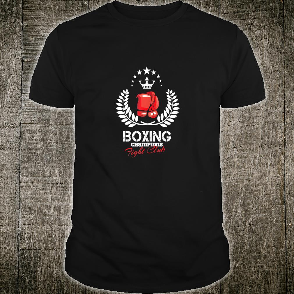 Boxing champion sparring training sport fight Shirt