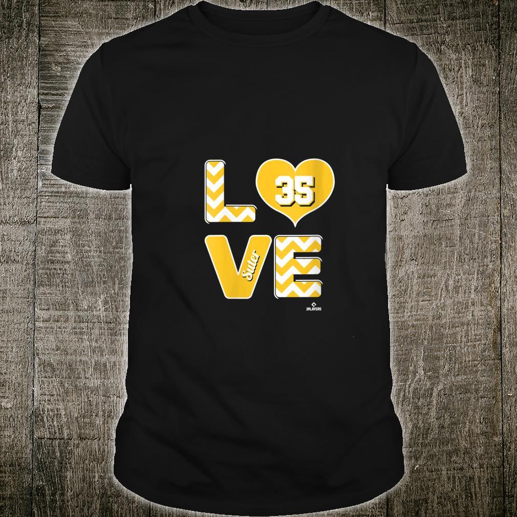 Brent Suter Love Ball Shirt
