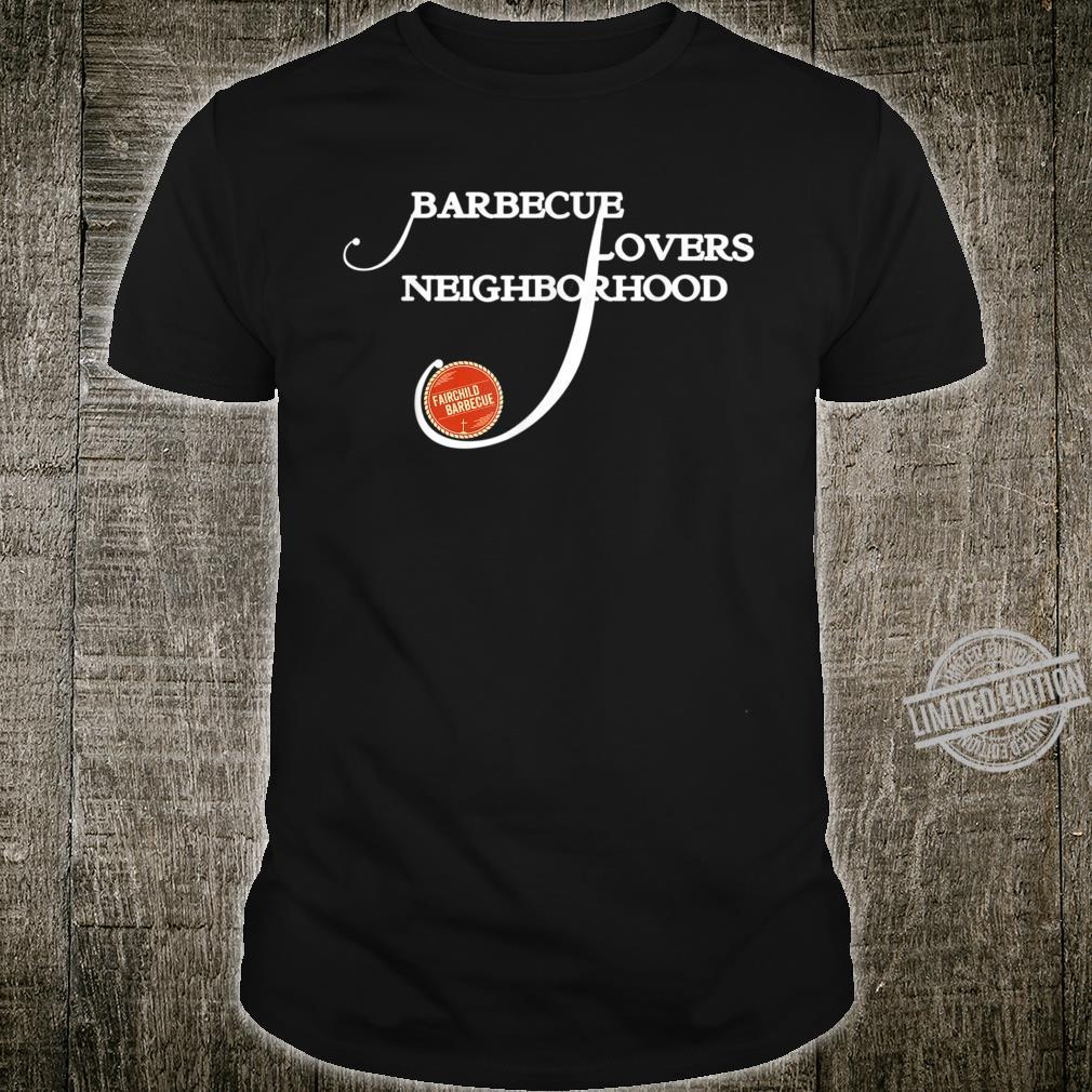 Briskets Neighborhood BBQ Themed Design 1 Shirt