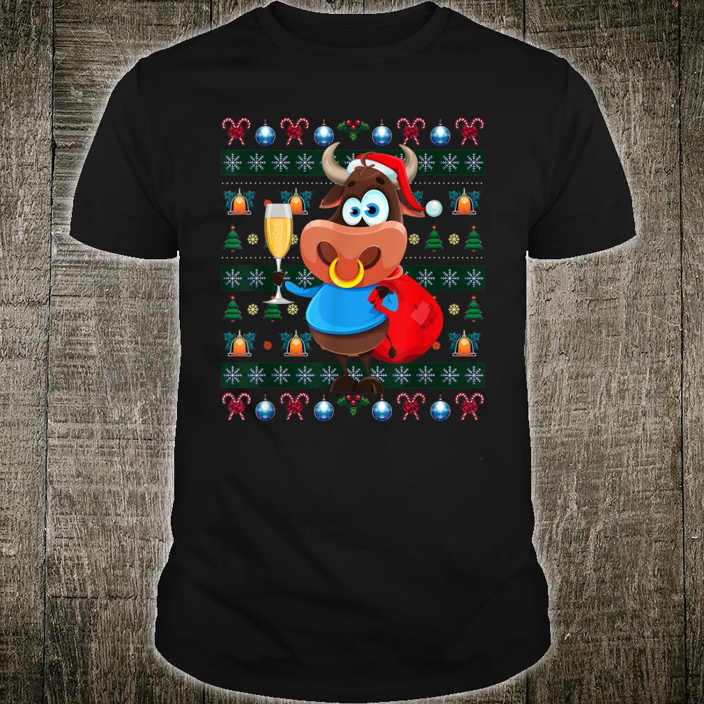 Buffalo Ugly Christmas Africa Animal Xmas Shirt